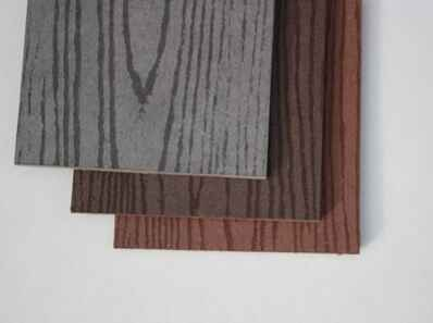 Рис 1: облицовочная панель Tardex, цвета: антрацит, графит, терракот