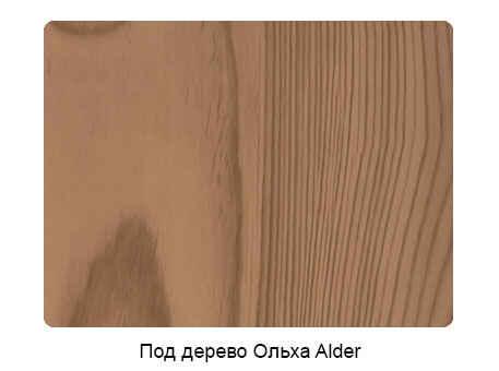 Профнастил под дерево Ольха Alder