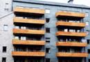 Фото 5. Фасад из сланца на высотных зданиях