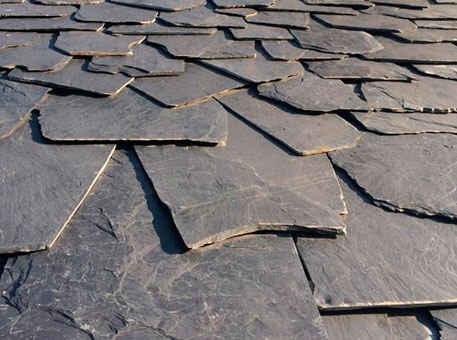 Сланцевая крыша с дикой кладкой Granel-Irregular 1