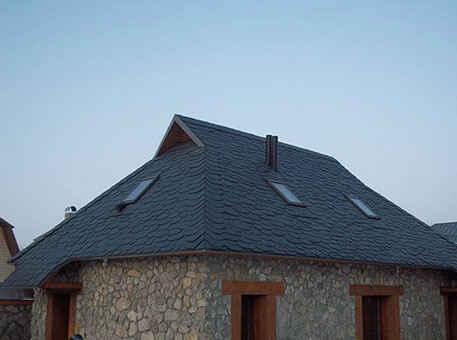 Крыша с дикой кладкой из сланца Granel Irregular Redondo